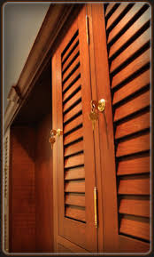 Louvered Cabinet Door Custom Engineered Louvered Cabinet Doors For Kitchen Cabinets And
