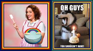 Lesbian Birthday Meme - born this way blog happy 1st birthday