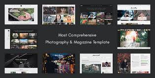 design magazine site get juno photography magazine site template design