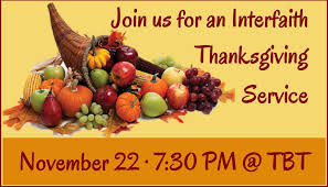 interfaith thanksgiving service the church council of greater seattle