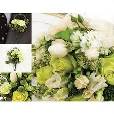 sams club wedding flowers wedding collection green white 17 pc sam s club