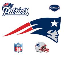 nfl patriots wall accent football helmet wall mural
