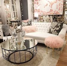 Pink Accent Table Living Room 25 Swoon Worthy Glam Living Room Decor Ideas Glass