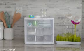 Getting Organized At Home by Kitchen Bottle Organizing Station That Doesn U0027t Take Up Too Much