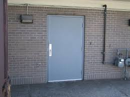 Exterior Doors Commercial Commercial Metal Entry Doors Are Made Of Top Quality Materials