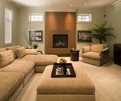Living Room Paint Colors With Brown Furniture Home Design Ideas - Earth colors for living rooms