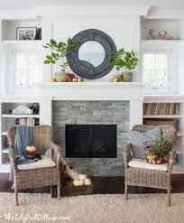 Bookshelf Around Fireplace Eat Sleep Decorate Investment Home Paint U0026 Granite Updates