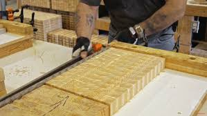 behind the design how an end grain butcher block cutting board is larch wood end grain cutting board 02