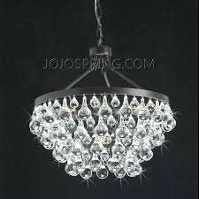 Chandelier With Black Shade And Crystal Drops Affordable Crystal Chandelier Modern Chandelier Crystal For