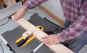 miter cuts on table saw making a table saw sled for the dewalt flexvolt saw