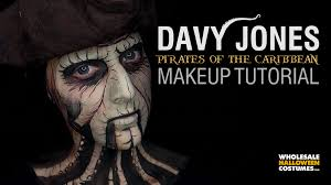 Pirates Caribbean Halloween Costume Pirates Caribbean Davy Jones Makeup Tutorial Wholesale