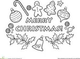 coloring pages merry christmas u2013 happy holidays