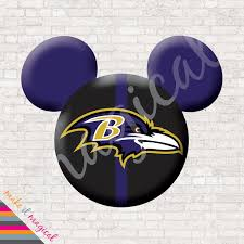 baltimore ravens mickey mouse head digital download baltimore