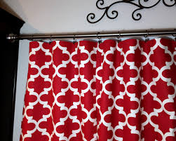 red print curtains home design ideas and pictures