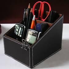 useful storage box home tv guide organizer remote controller desk