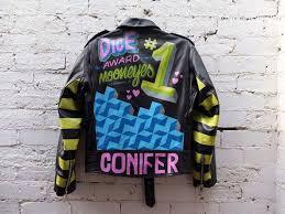 ornamental conifer paint jacket dice magazine mooneyes award