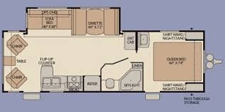 Fleetwood Pioneer Travel Trailer Floor Plans 2009 Fleetwood Trailers Reviews Prices And Specs Rv Guide