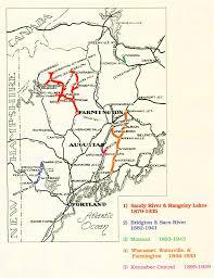 Map Of Mansfield Ohio by Railroads Narrow Gauge Maine An Encyclopedia