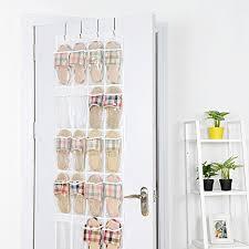 over the door organizer over the door organizer maidmax over door hanging organizer with 24