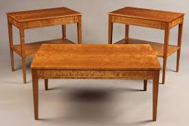 Cherry Coffee Table Coffee Table Doucette And Wolfe Furniture Makers Custom End