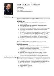Lebenslauf Vorlage Uk Lebenslauf Muster Professor Vorlage Livecareer
