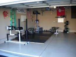 Decorating Home Gym Garage Gym Ideas And Equipment Packages Can Be Bought At