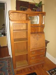 secretary desk with bookcase antique oak secretary desk bookcase circa 1900 by flyboysfinds
