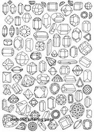 skellington wrapping paper gem coloring page printable wrapping paper for diamond coloring page