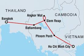 Thailand Blank Map by Cambodian Traveller Cambodia Tours Intrepid Travel Us