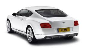 white gold bentley bentley dresses up new continental gt with mulliner styling