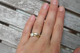 how to wear your wedding ring wow new wedding rings wear engagement ring wedding day