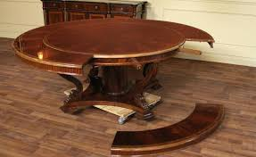 expandable round dining table choosing the best expandable round dining table designs colour