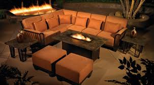 Outdoor Furniture With Fire Pit Table by Patio Furniture With Fire Pit Table Home Outdoor