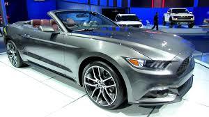 2014 Mustang Gt Convertible Black 2015 Ford Mustang Convertible Exterior And Interior Walkaround
