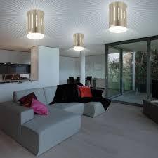 Wohnzimmer Decken Lampen 3er Set Aufbau Strahler Akzent Decken Leuchten Wohnzimmer Lampen