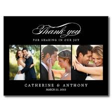 keyword wedding thank you cards photo black template color