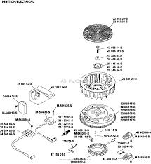kohler sv735 0016 husqvarna 26 hp 19 4 kw parts diagram for