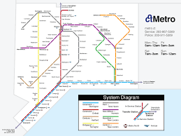 Marta Rail Map Fantasy Transit Maps Highway Railroad Major Florida Urban