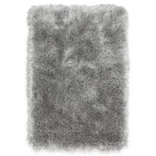 Silver Bath Rugs Buy Silver Shag Rug From Bed Bath U0026 Beyond