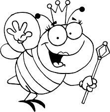 bee coloring pages awesome projects bees coloring pages at best