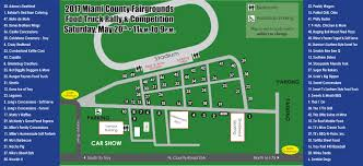 Ohio State Fair Map by Food Truck Competition
