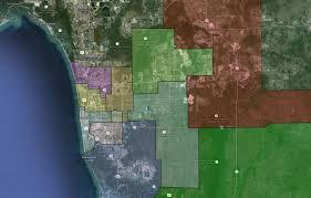 Map Of Estero Florida Collier County Public Schools Naples Middle District Map