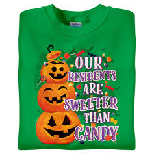 Peep N Peepers Flashing Eyes Halloween Lights Our Residents Are Sweeter Than Candy This Fun Shirt In Irish
