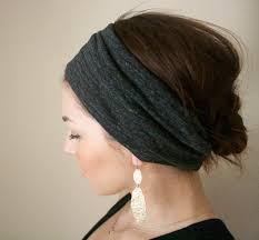 thick headbands women s headband ruche in grey headband cant wait