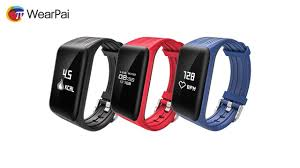 bracelet with heart rate images K1 continuous heart rate smart bracelet wearpai jpg
