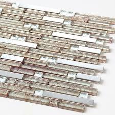 Steel Tile Backsplash by Silver Metal Tile Backsplash Kitchen Cheap Stainless Steel Tile