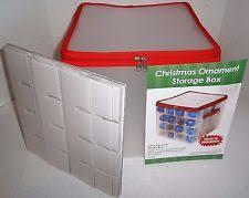 christmas ornament storage christmas ornament storage ebay