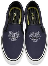 kenzo menu murphy kenzo blue tiger slip on sneakers kenzo