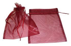 pink organza bags 8 x 10 plain organza bag