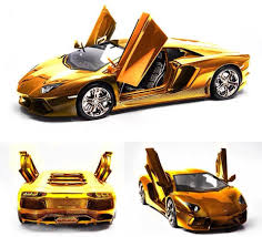 gold cars musely